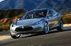 Tesla Model S on the move. Image by Tesla.