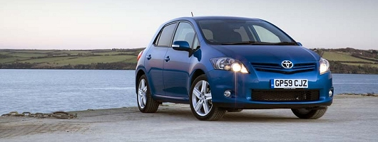 First Drive: 2010 Toyota Auris. Image by Toyota.