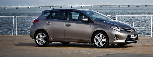 First drive: Toyota Auris. Image by Toyota.