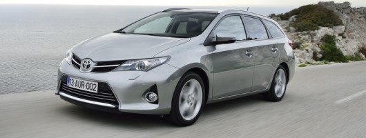 First drive: Toyota Auris Touring Sports. Image by Toyota.