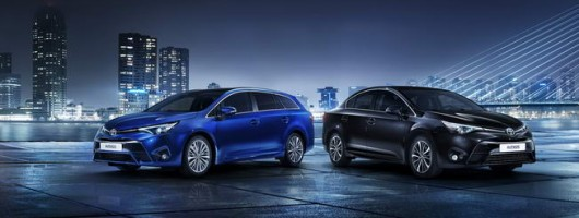 New-look Toyota Avensis gets Geneva debut. Image by Toyota.