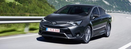 First drive: Toyota Avensis. Image by Toyota.