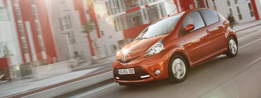 Refreshed Aygo on the way. Image by Toyota.