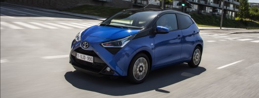 First drive: 2019 Toyota Aygo 1.0. Image by Toyota.