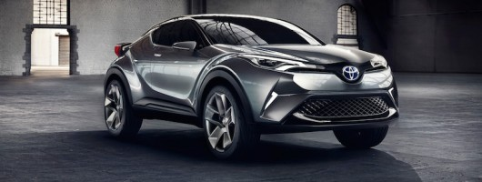 C-HR concept will become Toyota's Qashqai. Image by Toyota.