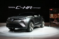 2015 Toyota C-HR concept. Image by Newspress.