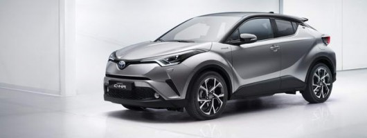 Toyota C-HR makes global debut. Image by Toyota.