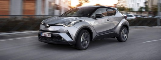 First drive: Toyota C-HR. Image by Toyota.