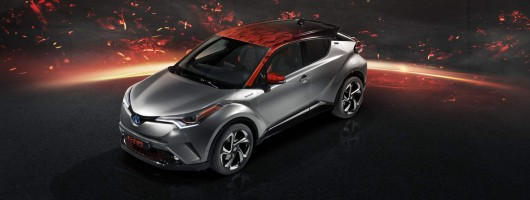 Toyota C-HR Hy-Power concept. Image by Toyota.