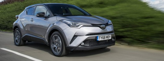 Driven: Toyota C-HR. Image by Toyota.