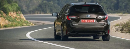 First drive: Toyota Corolla Touring Sports. Image by Toyota.