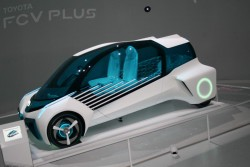 2015 Toyota FCV Plus concept. Image by Newspress.