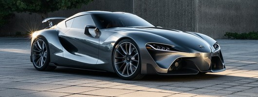 Toyota gives FT-1 concept more appeal. Image by Toyota.