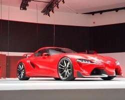 2014 Detroit Auto Show. Image by Toyota.