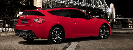Toyota creates an estate version of the GT86. Image by Toyota.