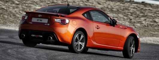 First drive: Toyota GT 86. Image by Toyota.