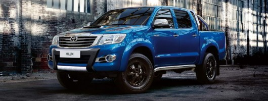 New tough Toyota Hilux: the Invincible X. Image by Toyota.