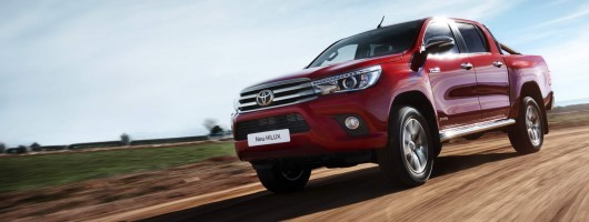 First drive: Toyota Hilux. Image by Toyota.