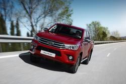 2016 Toyota Hilux. Image by Toyota.