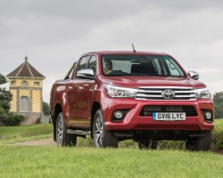 Invincible Hilux? Image by Toyota.