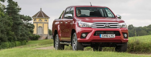 Road test: Toyota Hilux Double-Cab. Image by Toyota.