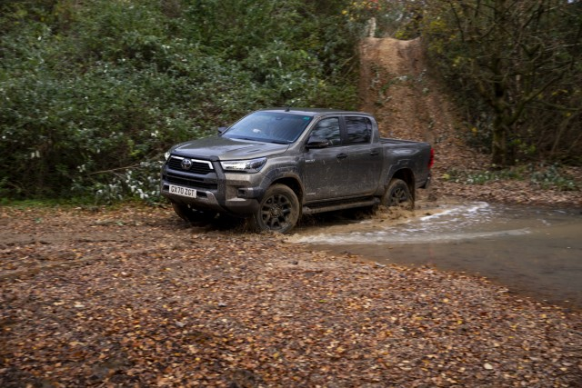 First drive: Toyota Hilux 2.8 Invincible X. Image by Toyota GB.