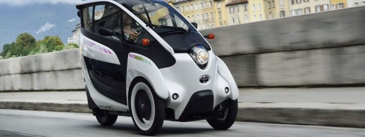 First drive: Toyota i-Road. Image by Toyota.