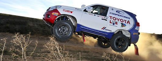 Feature Drive: Toyota Land Cruiser Dakar Rally Car. Image by Max Earey.