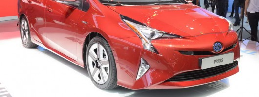 New Toyota Prius revealed. Image by Toyota.