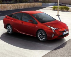 Incoming: Toyota Prius. Image by Toyota.