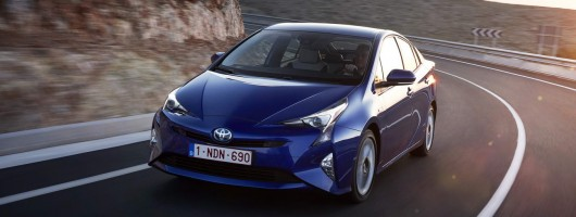 First drive: Toyota Prius. Image by Toyota.