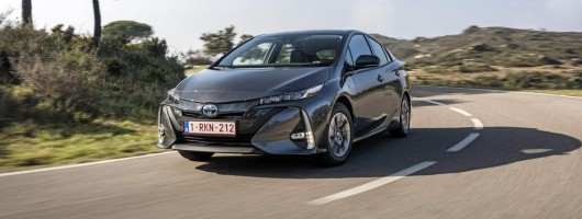 First drive: Toyota Prius Plug-in. Image by Toyota.