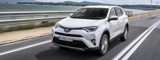 First drive: Toyota RAV4 Hybrid. Image by Toyota.