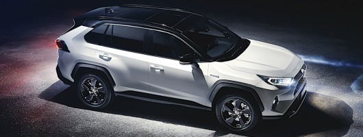 Fifth-gen RAV4 revealed by Toyota. Image by Toyota.