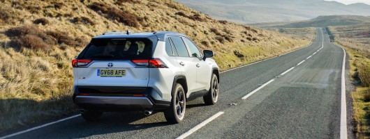 Driven: Toyota RAV4 Hybrid 2WD. Image by Toyota UK.