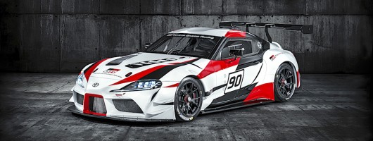 Toyota Supra Mk5 revealed in concept form. Image by Toyota.