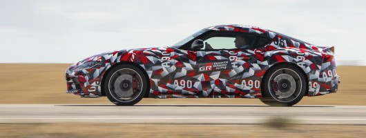 First drive: Toyota Supra. Image by Toyota.