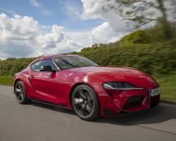 Toyota Supra GR UK test. Image by Toyota UK.