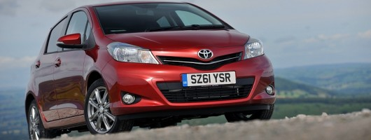 First Drive: 2012 Toyota Yaris. Image By Toyota.