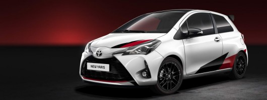 Toyota Yaris gets barmy 210hp+ range-topper. Image by Toyota.