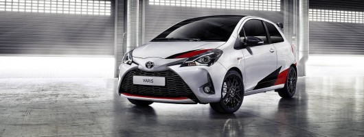 Toyota Yaris GRMN revealed in Geneva. Image by Toyota.