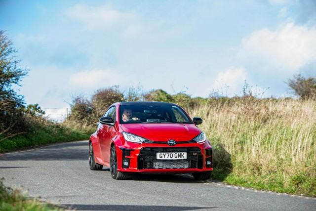 First drive: Toyota Yaris GR. Image by Toyota GB.