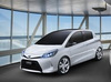 2011 Toyota Yaris HSD concept. Image by Toyota.