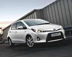 Toyota's baby hybrid. Image by Toyota.