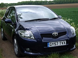 2008 Toyota Auris SR180. Image By Dave Jenkins.