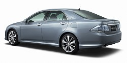 2007 Toyota Crown Hybrid concept. Image by Toyota.