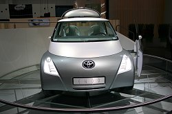 2005 Toyota Endo concept car. Image by Toyota.