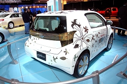 2009 Toyota FT-EV concept. Image by United Pictures.