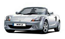 The 2003 Toyota MR2. Photograph by Toyota. Click here for a larger image.