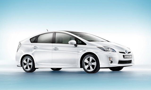 New Toyota Prius brings big economy. Image by Toyota.